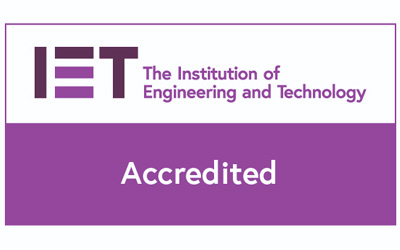 Institute of engineering and technology accredited member Karl Harrison