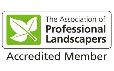 association of professional landscapers accredited member Karl Harrison