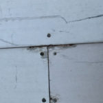 incorrectly installed cheap composite decking