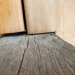 incorrectly installed soft wood decking site inspection